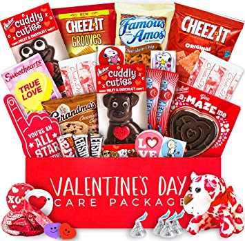 Amazon valentines day care package snack bundle chocolates valentines day care package snack bundle chocolates candy hearts gift for negle Image collections