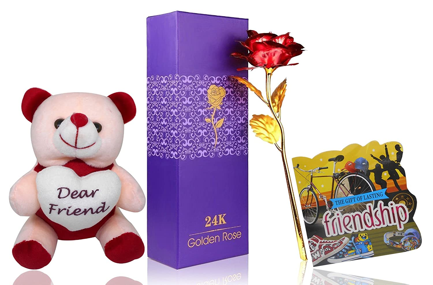 Buy Saugat Traders Gift For Friend Artificial Red Golden