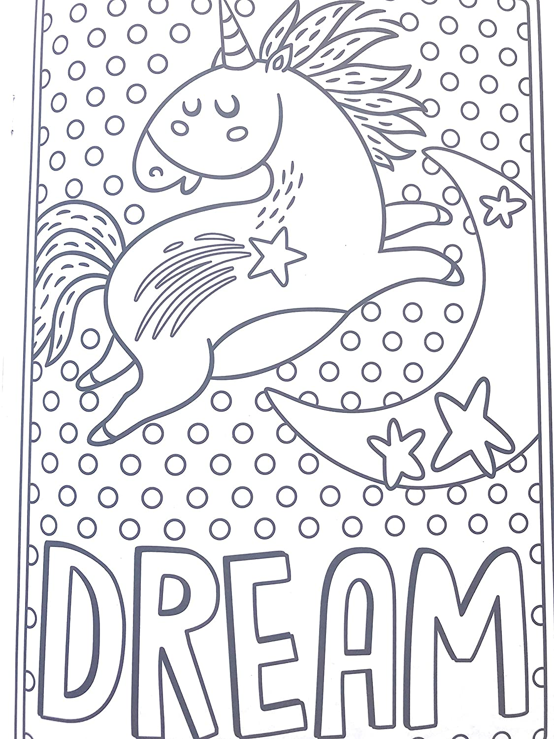 Amazon com bendon unicorn coloring book for all ages 48 magical pages to color toys games