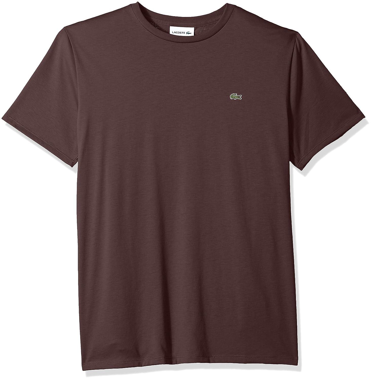 Lacoste Mens Standard Short Sleeve Pima Crewneck Tee