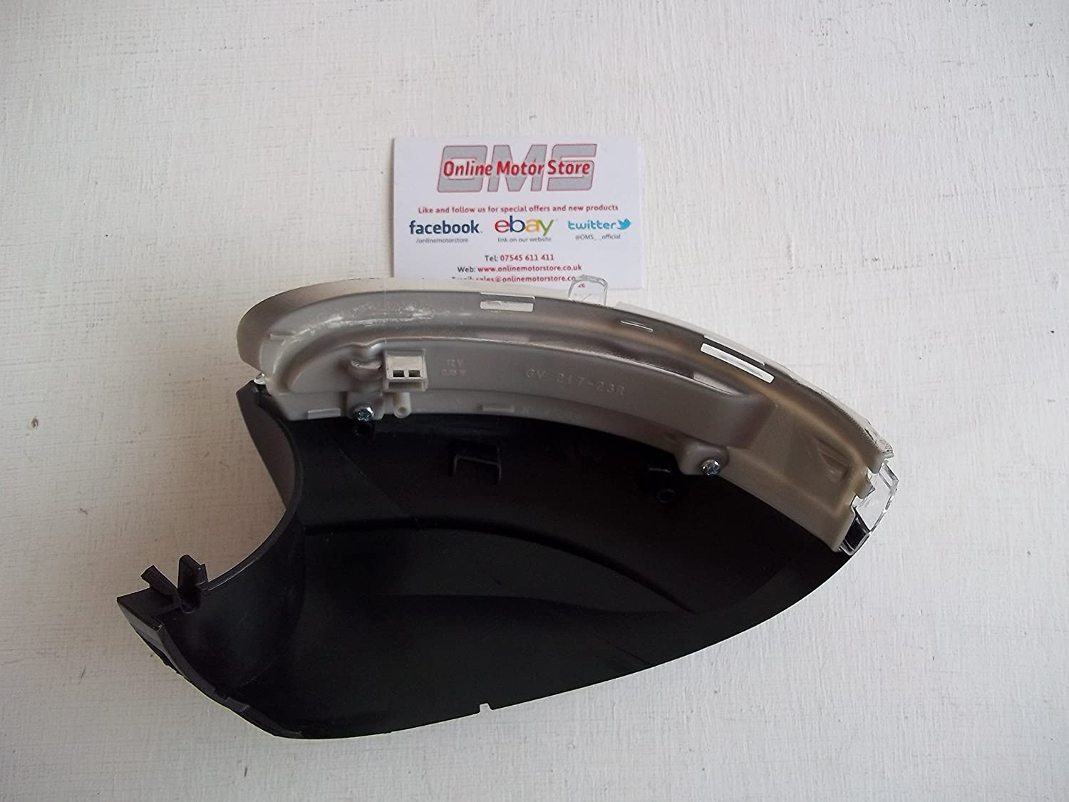 INDICATOR LENS SIDE REPEATER - WING MIRROR UNDER TRIM -RIGHT AM