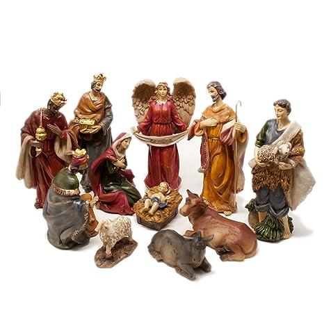 487f214bbb5 Figuras de bel eacute n XL de Navidad con 11 nbsp grandes figuras (hasta  21 nbsp