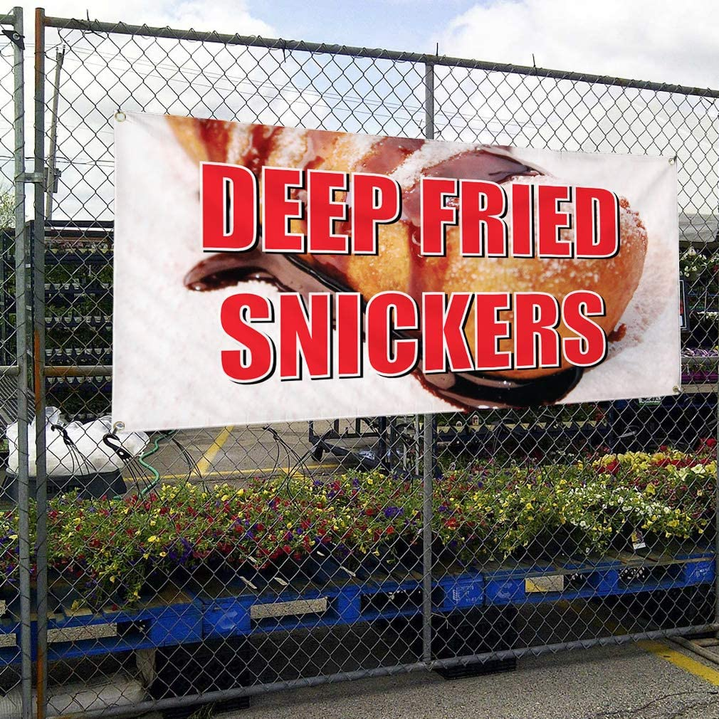 CHOCOLATE FUNNEL CAKES Yard Sign /& Stake outdoor plastic window
