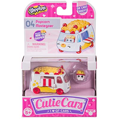 Shopkins Cutie Cars 04 Popcorn Moviegoer: Toys & Games [5Bkhe0206779]