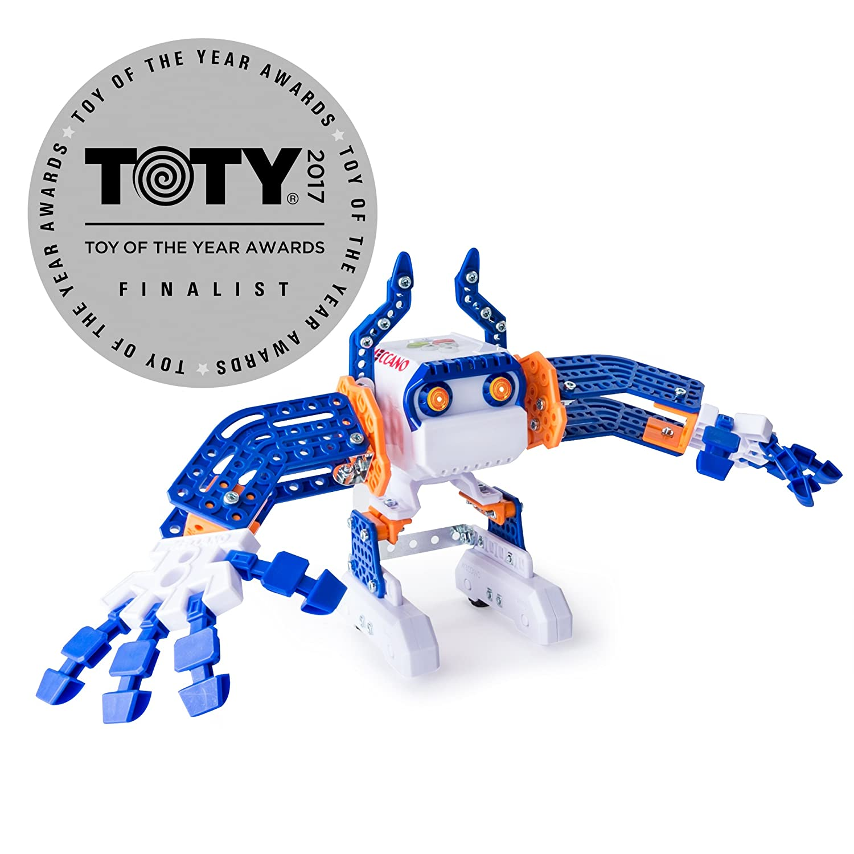Amazon Meccano Micronoid Blue Basher Toys & Games