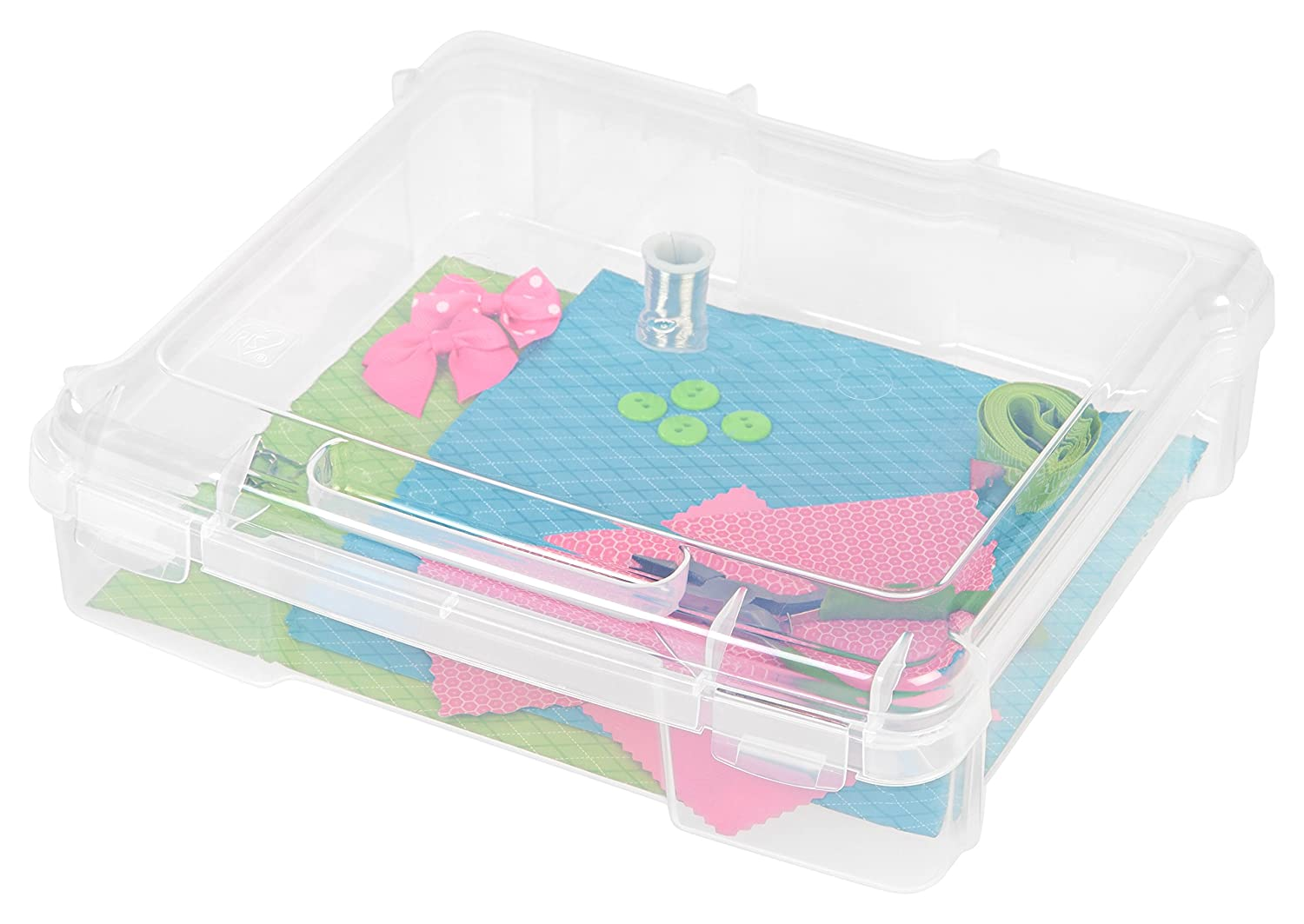 8 Pack IRIS Portable Project Case for 6 x 6 Paper