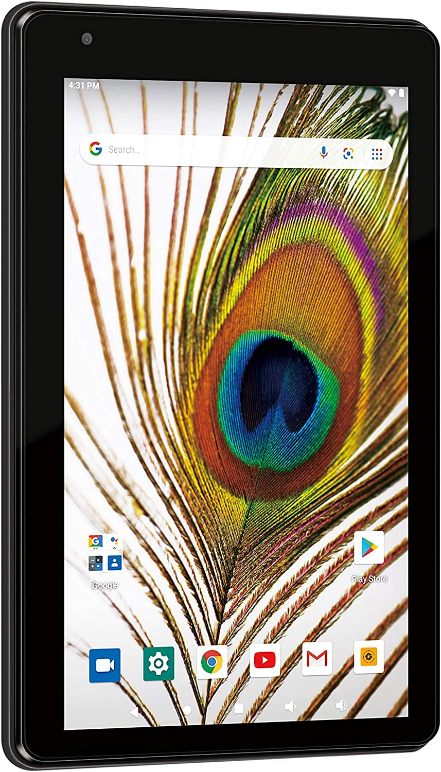 """RCA Voyager 7"""" Android 10 Tablet w/Google Play, 16GB Storage, 2GB RAM, WiFi, Camera (RCT6876Q22N00)"""
