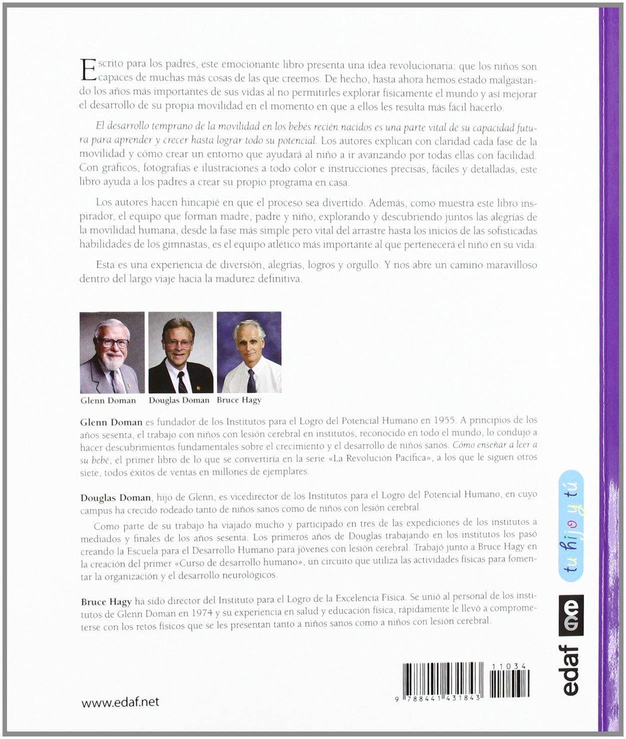 Bebe en forma, bebe inteligente (Spanish Edition): Glenn Doman ...