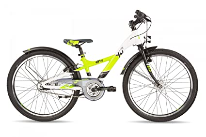 SCool pedeX Race Kinder Laufrad One Size, Lemon//Green matt