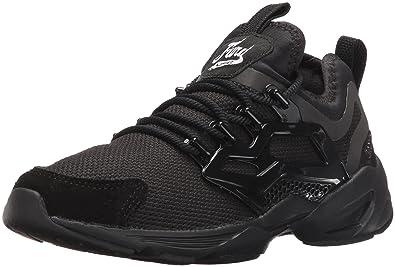2ac02583e7c223 Reebok Women s Fury Adapt Fashion Sneaker Black White 5.5 ...