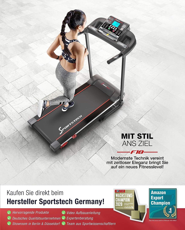 Sport STech F10 Cinta de correr con control por aplicación ...