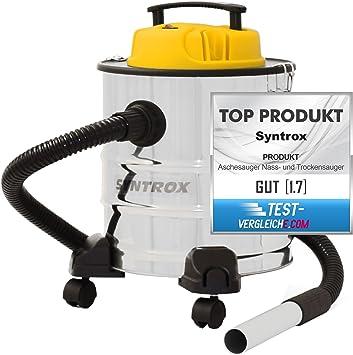 Syntrox Germany 2-en-1 aspirador de cenizas y húmedo - y en seco ...