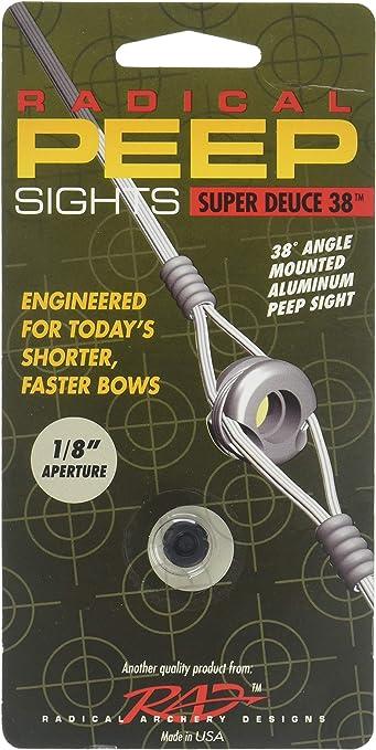 Archery peep sight serveless 3//16 Red