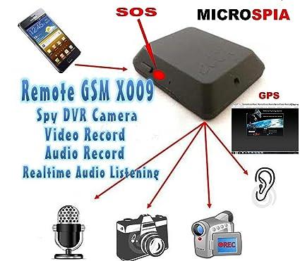 Incluye micrófono espía de grabación de vídeo y audio con activación mediante SMS o CS ELETTROINGROS