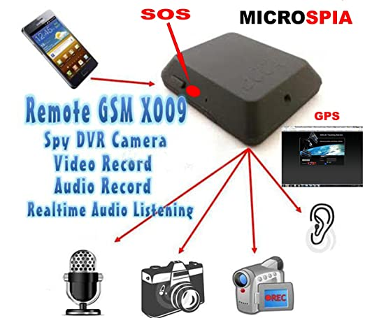 46 opinioni per MICROSPIA AMBIENTALE GSM CON REGISTRAZIONE VIDEO E AUDIO con attivazione tramite