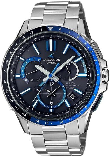 CASIO OCEANUS GPS OCW-G1100-1AJF Reloj solar híbrido para hombre: Amazon.es: Relojes