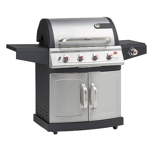 Landmann Barbecues 12660 Miton 41 Gasgrill mit Brennern grau