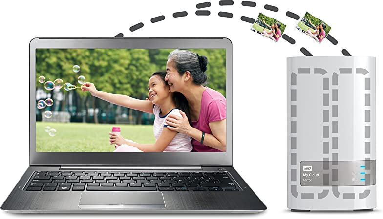 Western Digital My Cloud HDD Esterno 3.50 Pollici USB 3.0 4000 GB Bianco Gigabit Ethernet