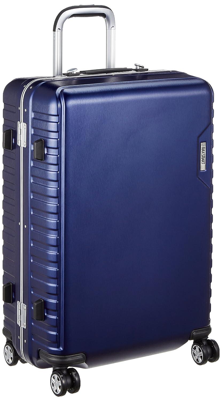 [アジアラゲージ㈱] ハードキャリー MAX SMART(マックススマート) 手荷物預け可能サイズ 56L ダイヤル式ロック 静音キャスター 56L 64cm 4.3kg MS-205-25 B07B2XBSP1ネイビー