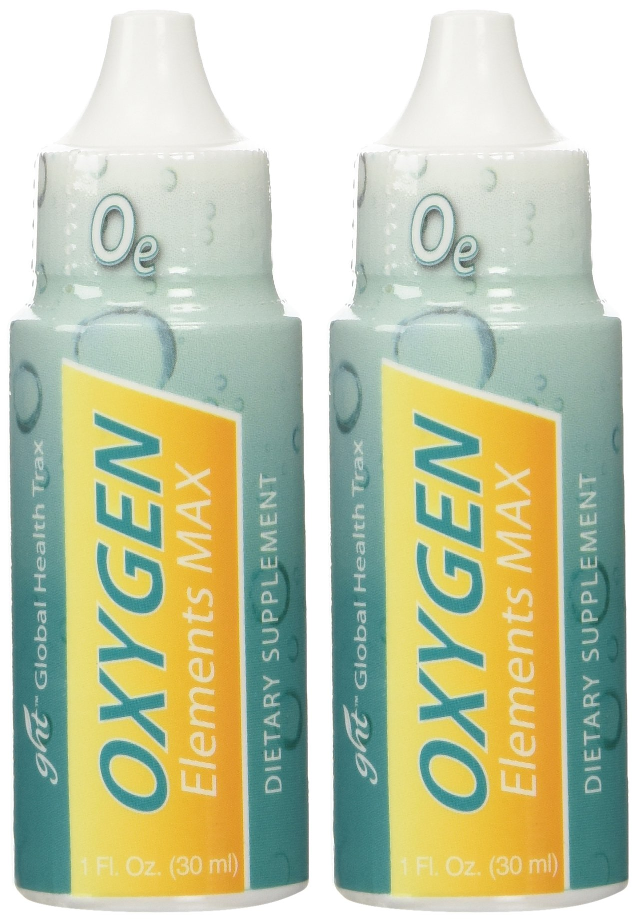 Oxygen Elements Max Plus Candida Therapy Yeast Fighter By GHT 1 Oz Per Bottle - 2 Bottles by Oxygen Elements Max