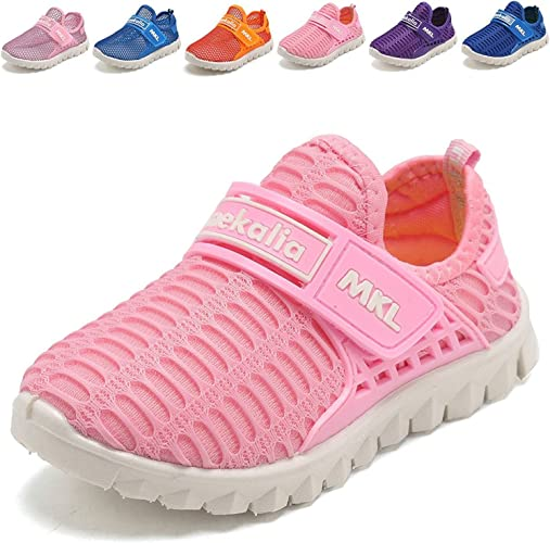 Mishansha Trainers Kids Running Shoes Boys and Girls Lightweight Breathable Walking Sneakers