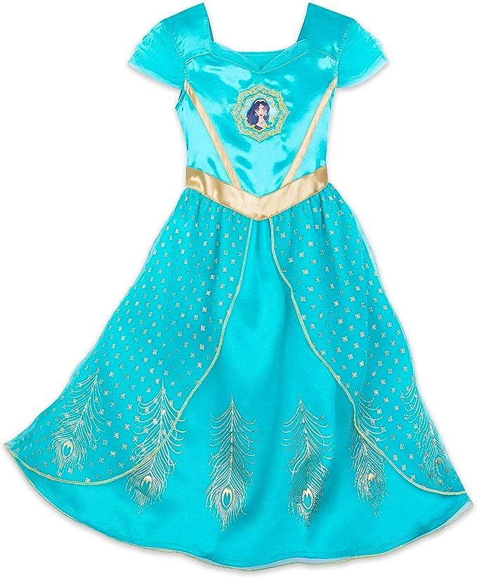 Amazon.com: Disney Jasmine - Traje de dormir para niña, 2 ...