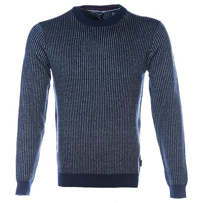b0cf5bb31 Amazon.com  Ted Baker Jinxi Knitwear in Navy L  Clothing