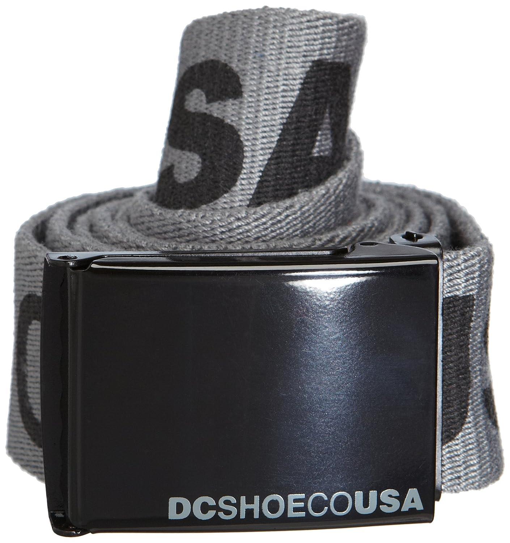 DC Shoes DC Chinook 5 Reversible Belt Oliv//Gelb Cintur/ón Hombre