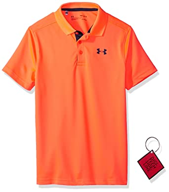 Under Armour Performance Polo Camiseta, Niños: Amazon.es: Ropa y ...