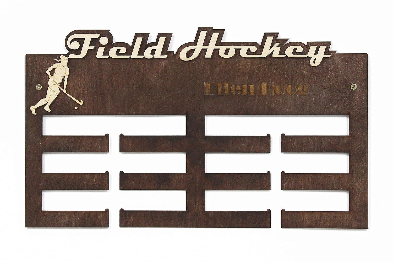 Medaille Rack Feldhockey Medaillen Inhaber Medaillenh/änger Sport Meddaillenh/änger Feldhockey Geschenke
