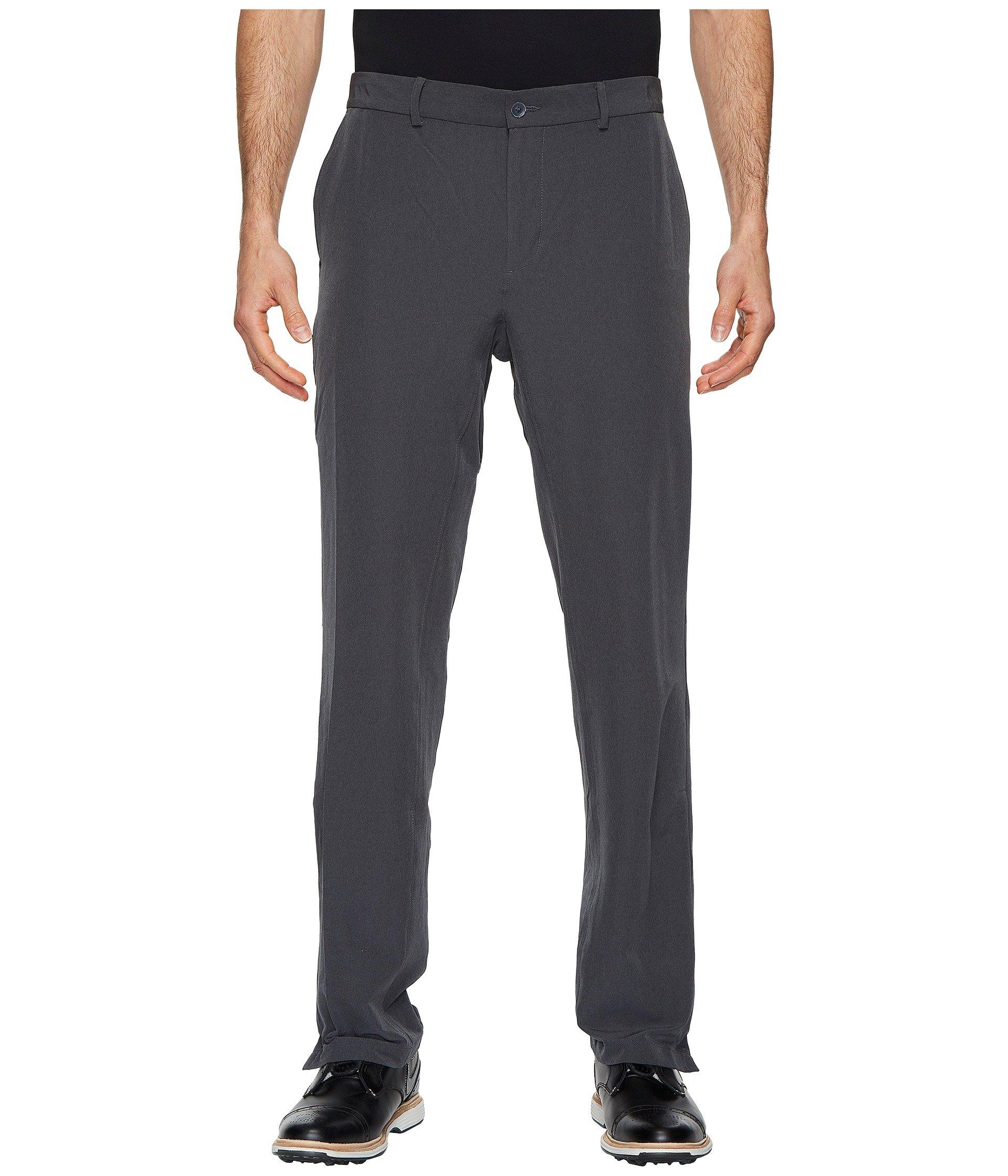 NIKE Men's Flex Hybrid Golf Pants, Charcoal Heather/Dark Grey, Size 34/30 by Nike