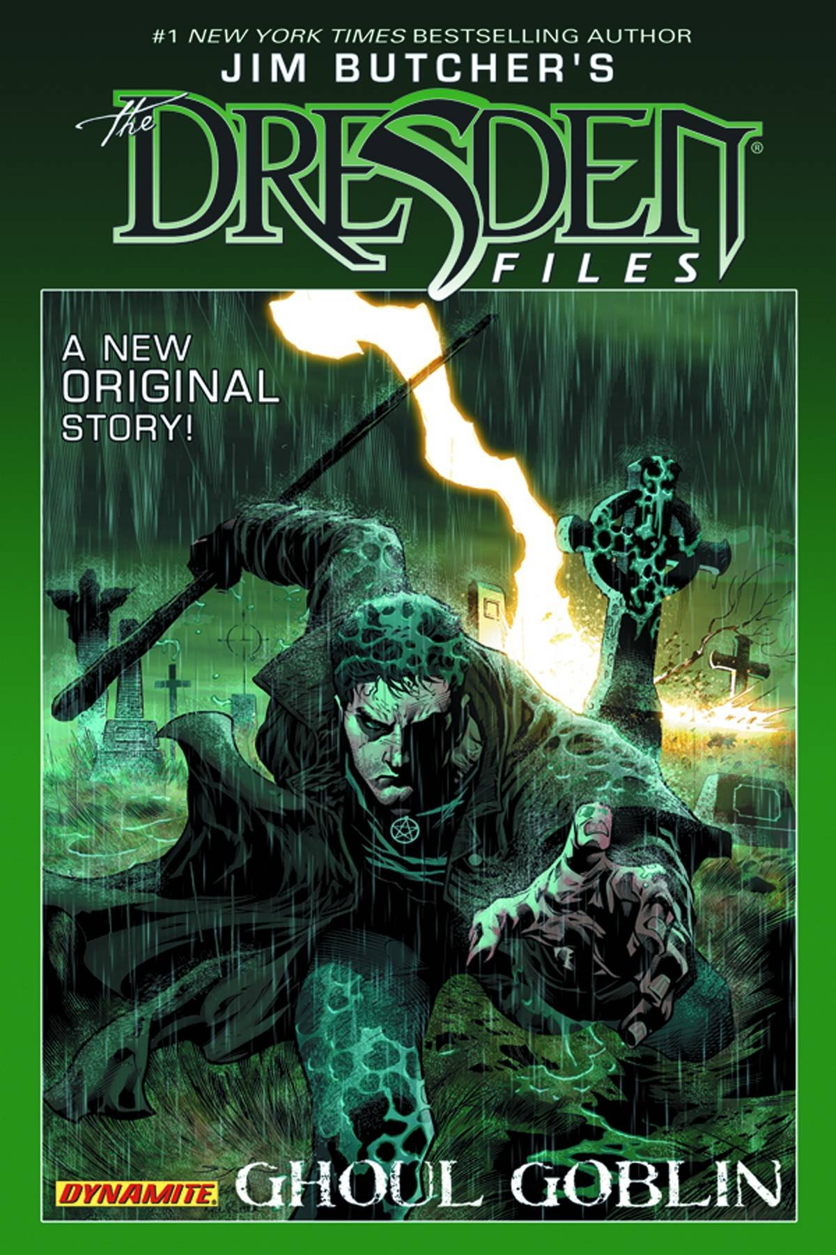Jim Butcher's Dresden Files: Ghoul Goblin: Jim Butcher, Mark Powers, Joseph  Cooper: 9781606904381: Amazon: Books