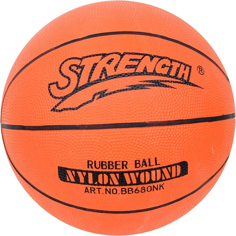Strength - Pelota de Baloncesto (tamaño 7, Incluye Aguja y Red de ...
