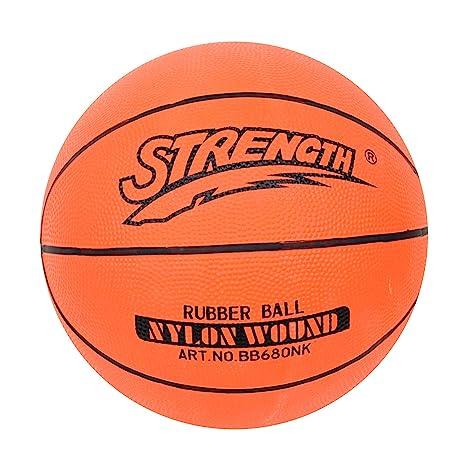 Strength - Pelota de Baloncesto (tamaño 7, Incluye Aguja y ...