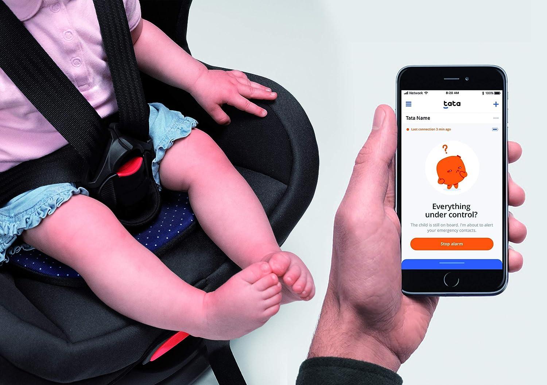 Tata In Pre Ordine Fino al 28 novembre Cuscino Intelligente per seggiolini auto Dispositivo Anti Abbandono Conforme Legge Salva Beb/é 2019