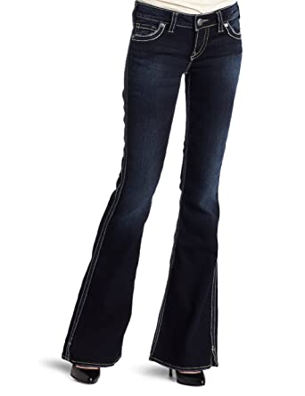 Silver Jeans Women&39s Frances 22 Flare Leg Jean Rinse 30x33 at