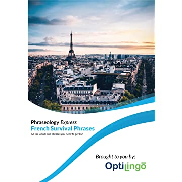 reliable OptiLingo Phraseology Express French Survival