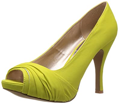 Qupid Women's Brandy Yellow Pumps - 10 US/ 41 EU: Buy Online at ...