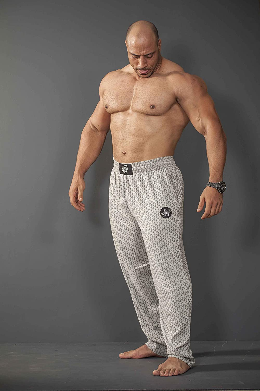 BIG SAM SPORTSWEAR COMPANY Bodybuilding Mens Baggy Track Pants Bodypants 1038
