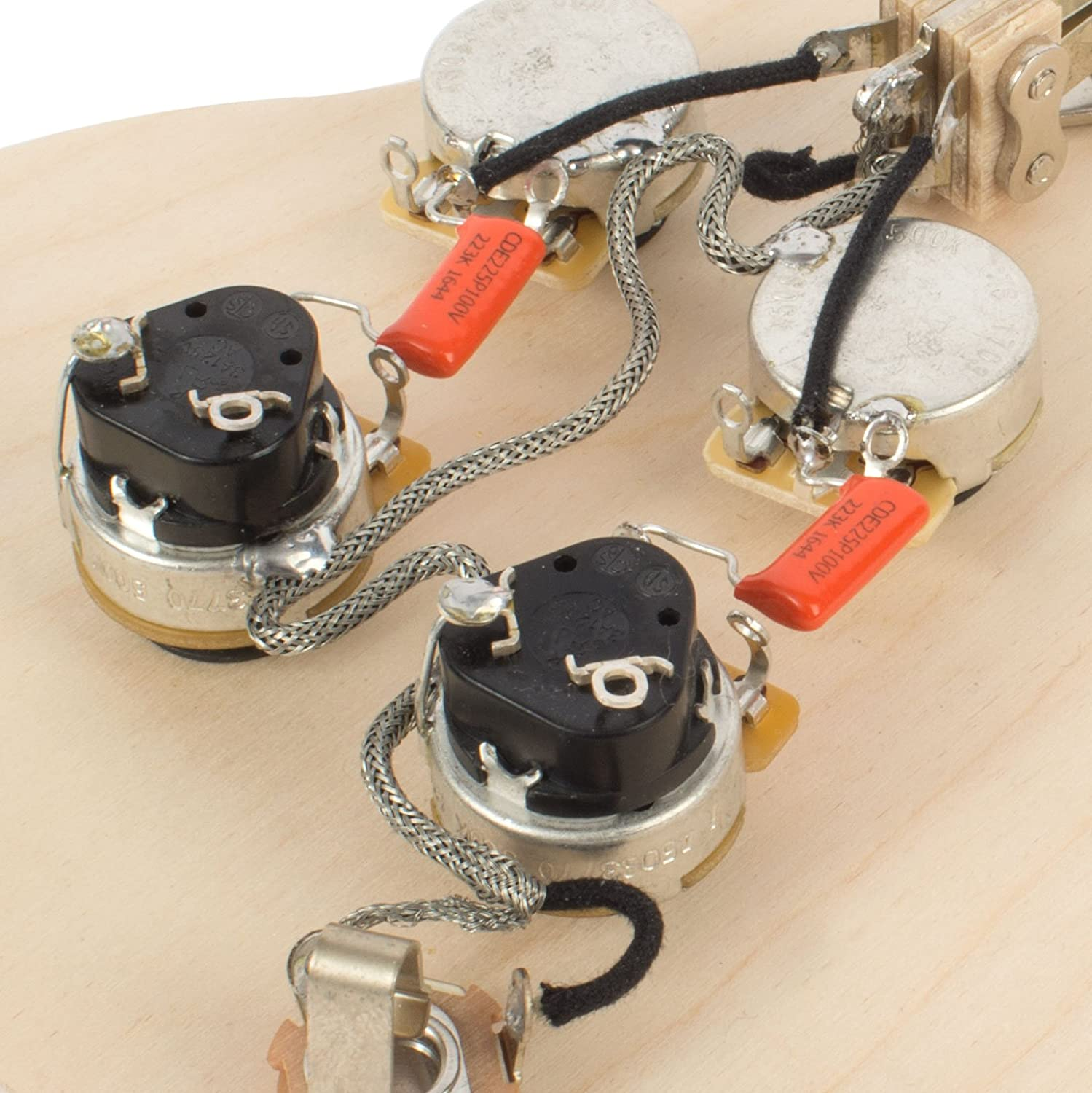 Golden Age Pre Wired Harness For Gibson Sg With Push Wiring Pull Pots Musical Instruments