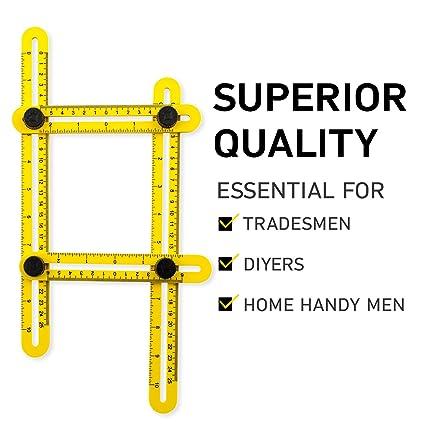 template tool multi angle measuring ruler for carpenter handyman builder angle measuring