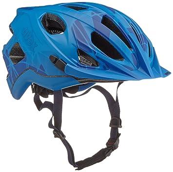 Uvex Adige CC - Casco de Ciclismo, Color Azul Mate