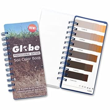 the globe professional soil color book - Munsell Soil Color Book