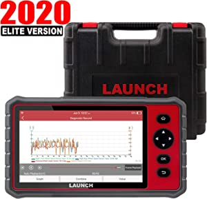 """LAUNCH CRP909E OBD2 Scanner 7""""inch touch screen Full System Car Diagnostic Scan Tool,15 Reset Functions Automotive Code Reader,Key Programming,TPMS,SAS,DPF,BMS,IMMO,ABS Bleed,Auto VIN WiFi Free Update"""