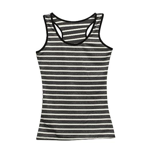9d896d350588f Amazon.com  JNINTH 2 pcs Women Tank Tops Cotton Workout Stretch Activewear  for Yoga