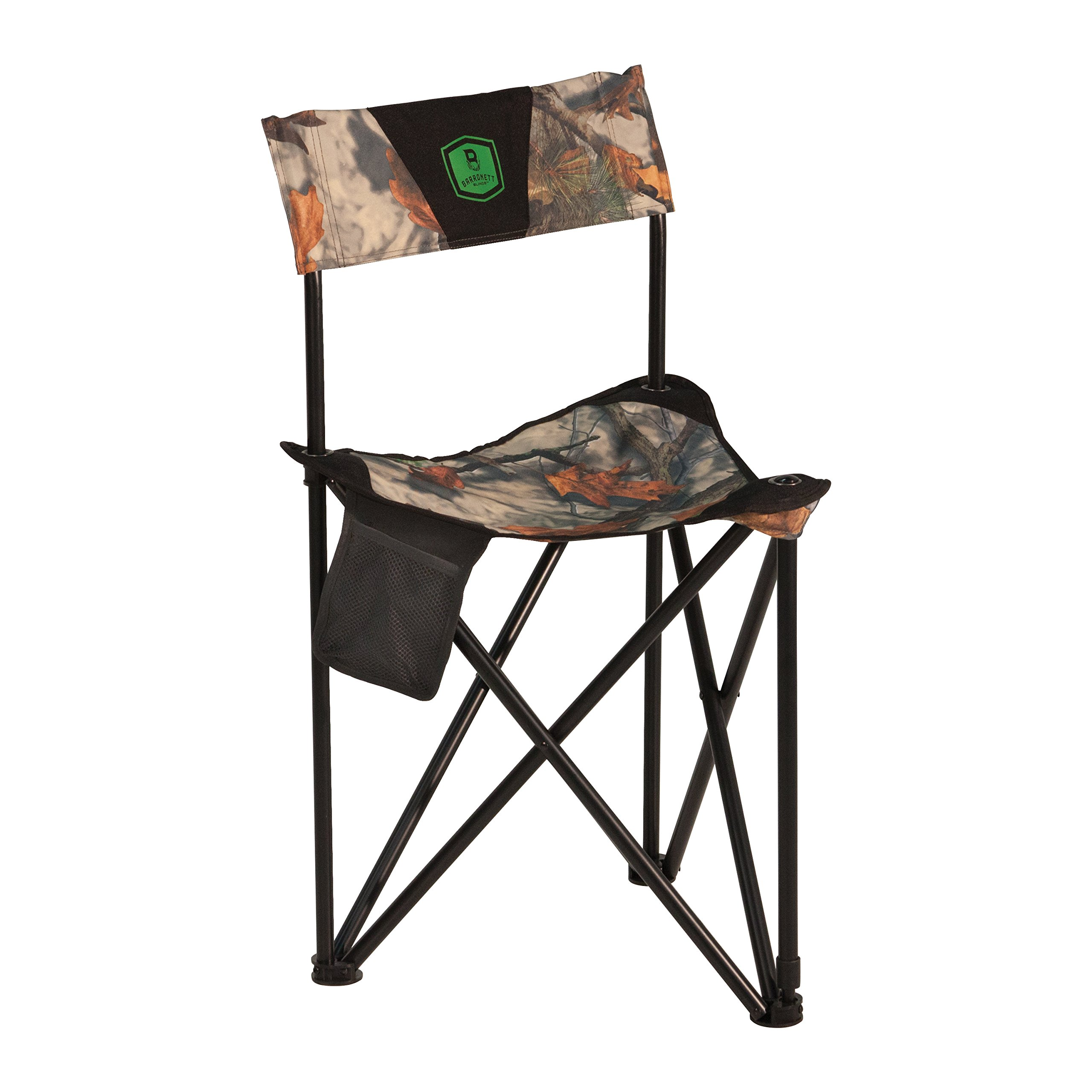 Barronett Blinds BC101 Tripod XL Folding Hunting Chair, Bloodtrail Camo
