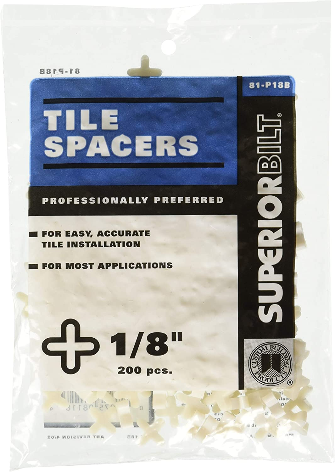 M-D Building Products 49168 1//8-Inch Tile Spacers 200//Bag