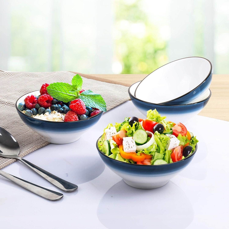 Kitchen Bamboo Dessert Salad Pasta Soup Food Rice Bowls Kids Dinner Bowl