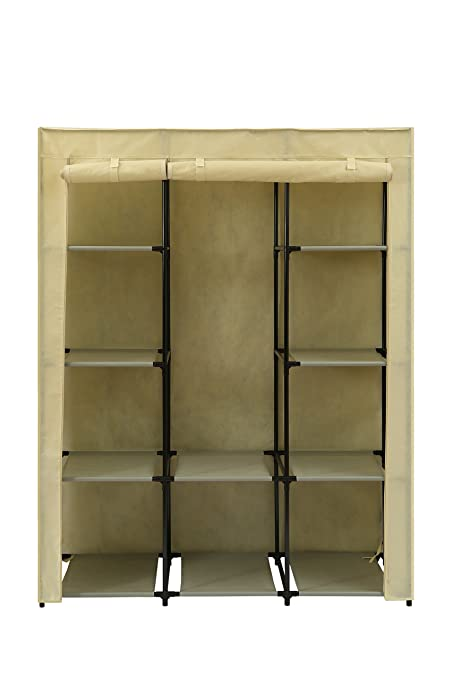 Home Like Portable Wardrobe Bedroom Armoires Clothes Closet Non Woven  Fabric Wardrobe Storage Cabinet