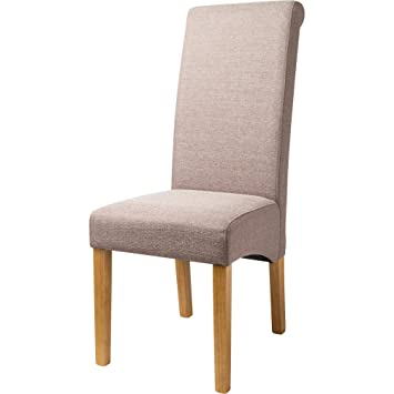 JTF Mega Discount Warehouse London Linen Dining Chairs Stone Set of 2  sc 1 st  Amazon UK : london chairs - Cheerinfomania.Com